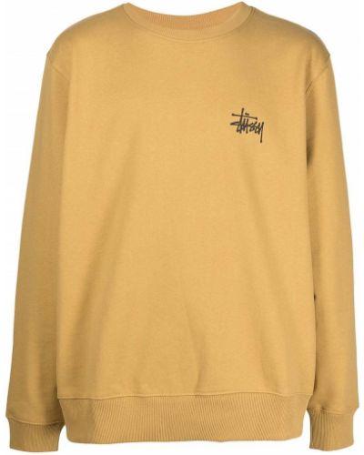 Bluza dresowa - żółta Stussy