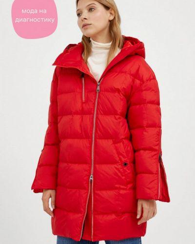 Расклешенная свободная красная куртка Finn Flare