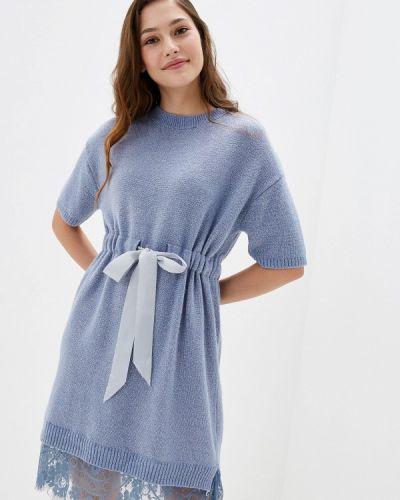 Платье - голубое Liana