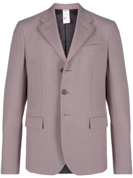 Коричневый пиджак с манжетами Jil Sander Pre-owned