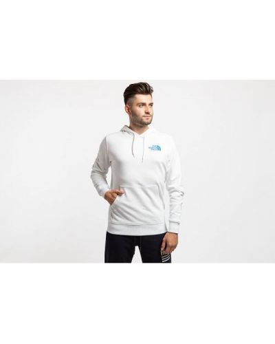Biała bluza z kapturem The North Face