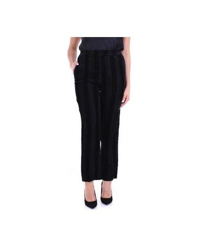 Czarne spodnie Suoli