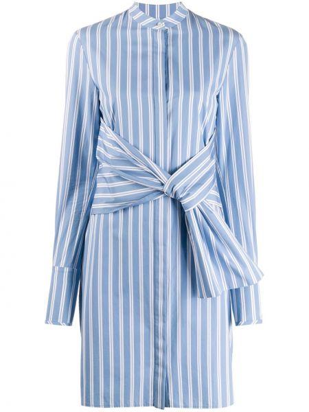 Платье в полоску на пуговицах Victoria, Victoria Beckham