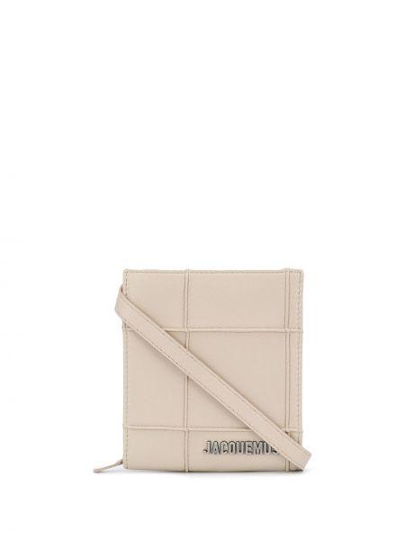 Кожаная сумка через плечо Jacquemus