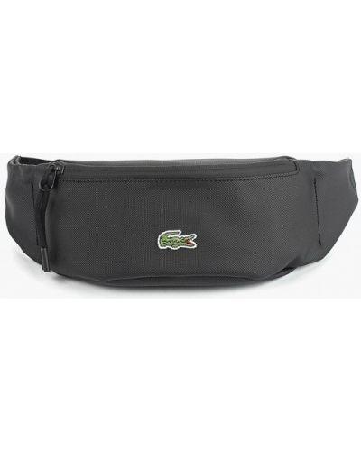 Поясная сумка текстильная черный Lacoste