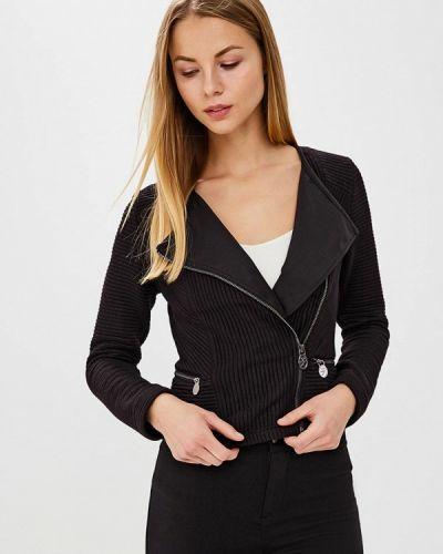 Куртка весенняя черная Laura Jo