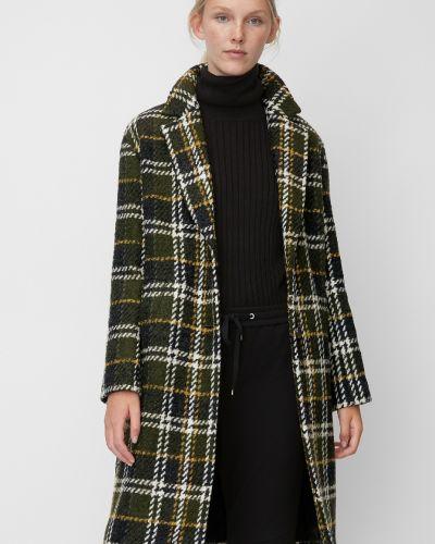 Однобортное шерстяное пальто с воротником с карманами Marc O' Polo