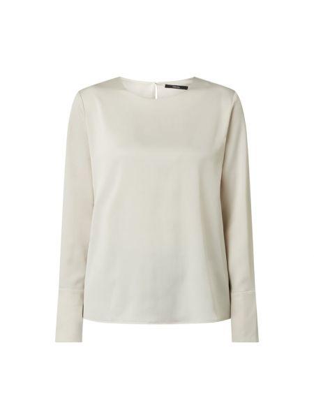 Biała bluzka z długimi rękawami Someday