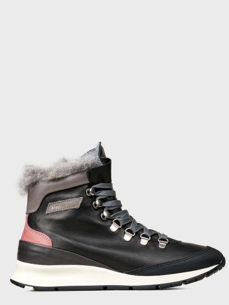 Кожаные ботинки - черные Philippe Model