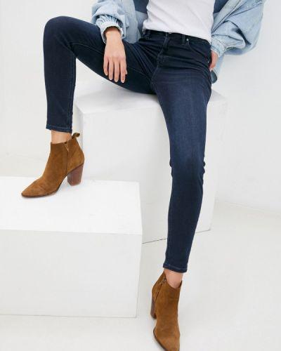 Синие джинсы-скинни узкого кроя Lee