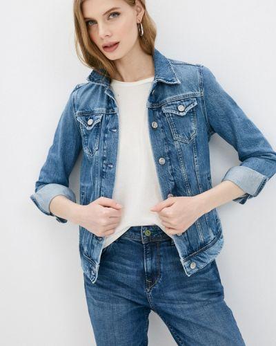 Джинсовая куртка - синяя Pepe Jeans