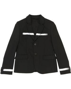 Пиджак шерстяной на пуговицах Neil Barrett