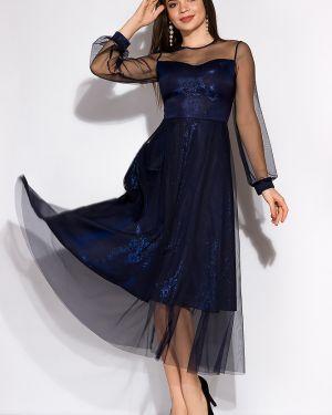 Приталенное платье из фатина Time Of Style