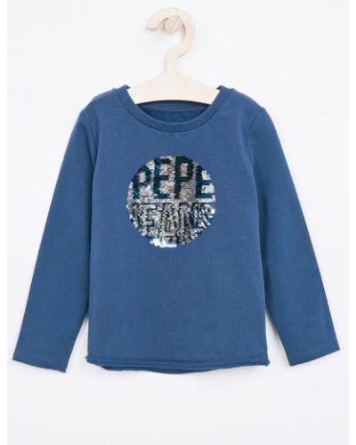 Джинсы прямые темно-синий Pepe Jeans