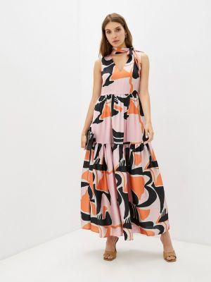 Разноцветное платье Zibi London