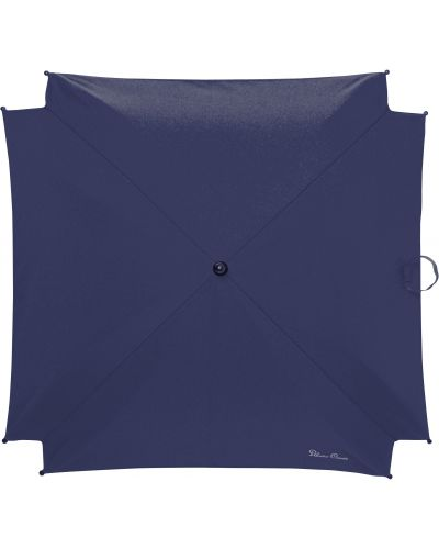 Зонт синий серебряный Silver Cross