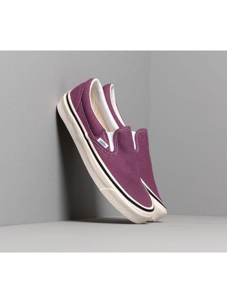 Фиолетовые классические туфли Vans