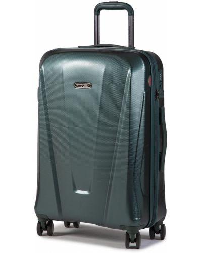 Zielona walizka średnia Wittchen