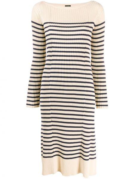 Платье миди макси в полоску Jean Paul Gaultier Pre-owned