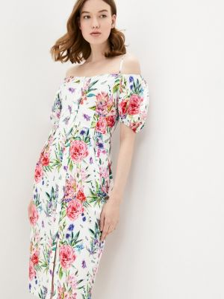 Разноцветное платье Solou