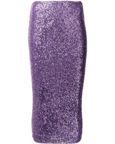 Юбка карандаш - фиолетовая Rotate