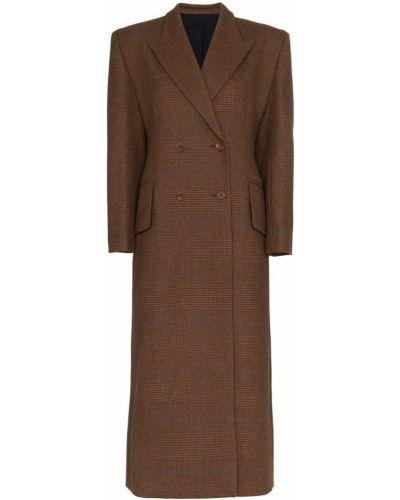 Шерстяное пальто с капюшоном Wright Le Chapelain