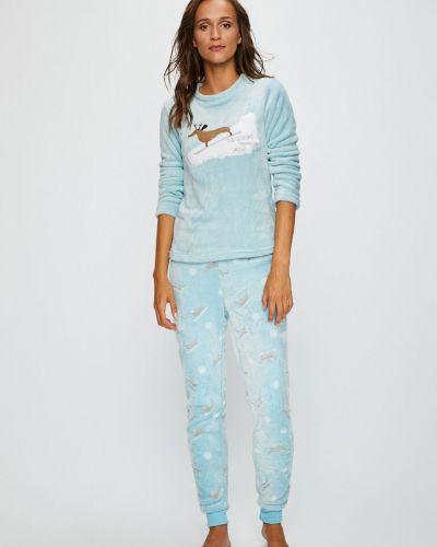 Рубашка с поясом на резинке Answear