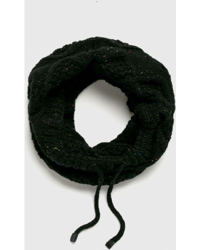 Черный шарф трикотажный Medicine