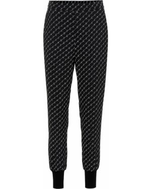 Спортивные брюки брюки-хулиганы из штапеля Stella Mccartney