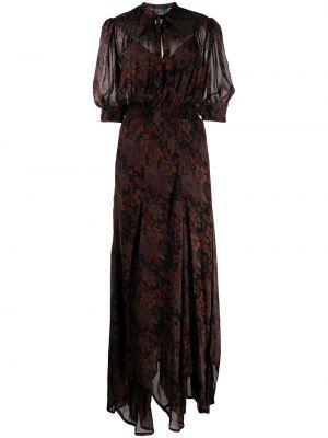 Шелковое платье Polo Ralph Lauren