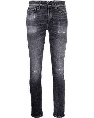 Черные джинсы стрейч Dondup