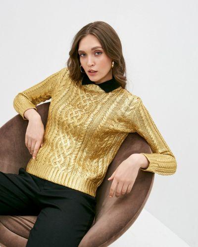 Джемпер золотой Lauren Ralph Lauren