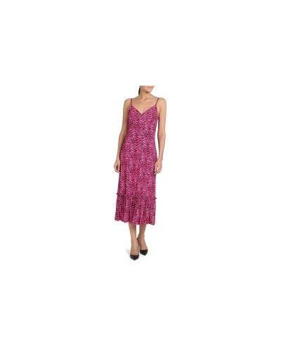Розовое платье Michael Kors