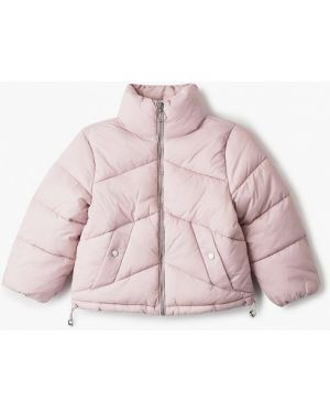 Куртка розовый теплая Sela