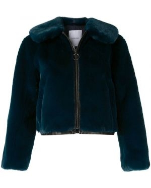 Синяя короткая куртка Loveless