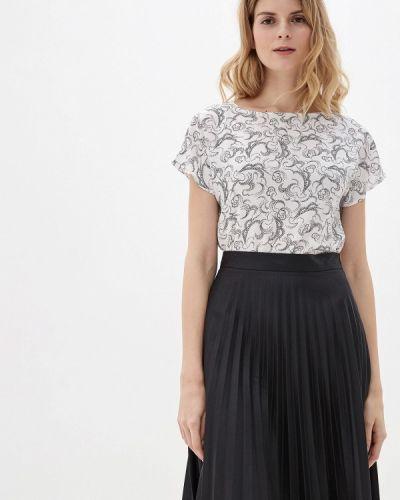 С рукавами белая блузка Marks & Spencer
