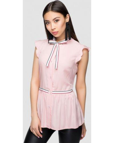 Розовое платье весеннее A-dress