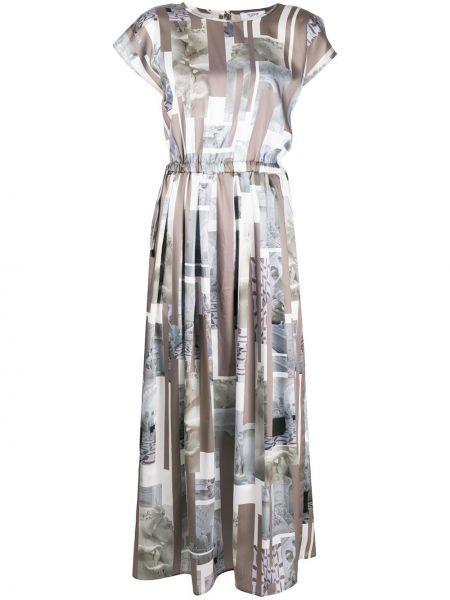 Платье мини миди на пуговицах Peserico