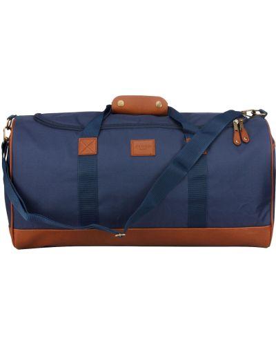 Niebieska torba na ramię Kangol