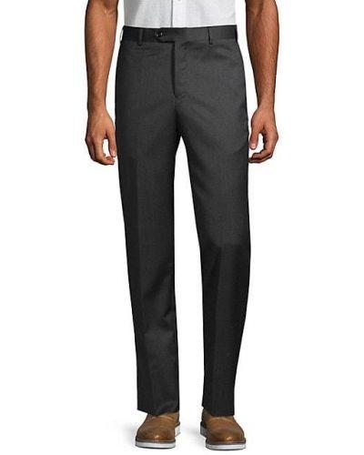 Брючные черные классические брюки с карманами Zanella