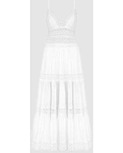 Платье макси - белое Charo Ruiz