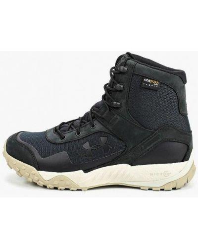 Кожаные ботинки - черные Under Armour
