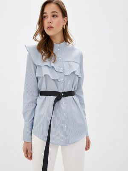 Блузка с рюшами весенний Concept Club