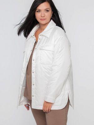 Утепленная куртка - белая Лимонти