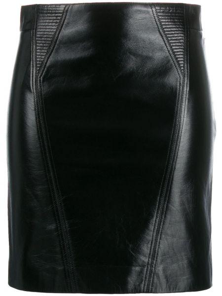 Spódnica mini ołówkowa skórzana Givenchy