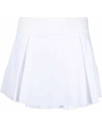 Клубная белая плиссированная юбка мини Nike