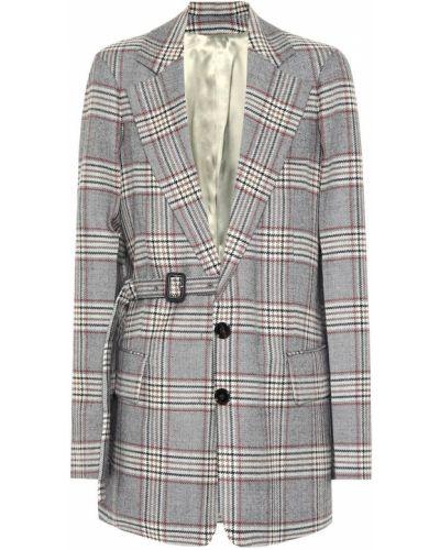 Пиджак шерстяной с отворотом Joseph