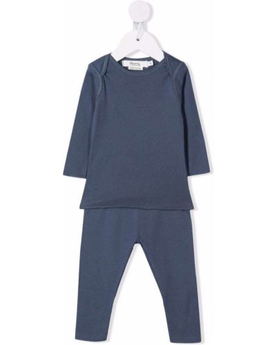 Niebieska piżama bawełniana Bonpoint