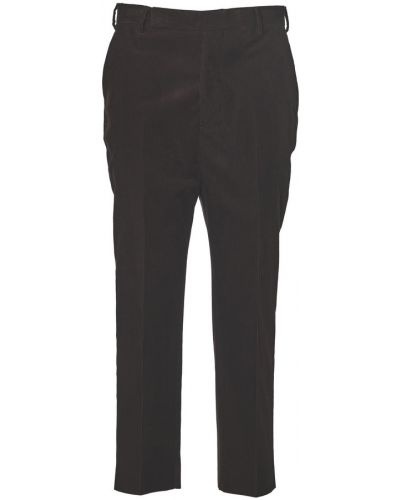 Czerwone spodnie Rick Owens