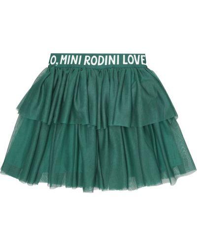 Zielony spódnica z tiulu Mini Rodini